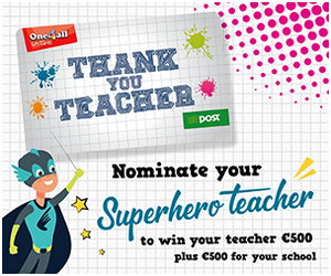 Advert: https://www.one4all.ie/thankyouteacher