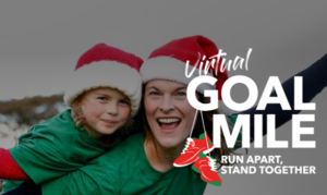 Kerry family pledge to smash 5 new world records to support the virtual GOAL Mile   Stand with GOAL this Christmas and cover 10,000 virtual GOAL Miles together!  Run Apart, Stand Together.